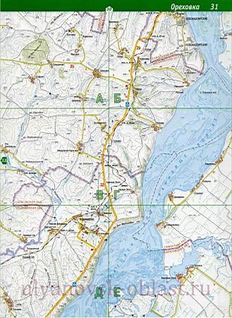 Карта Старокулаткинского